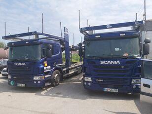 tovornjak avtotransporter SCANIA P450 + prikolica avtotransporter