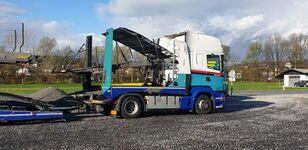 tovornjak avtotransporter SCANIA r480 + prikolica avtotransporter