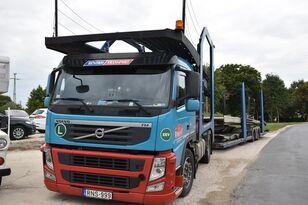 tovornjak avtotransporter VOLVO FM 460 + LOHR 1.22 + prikolica avtotransporter