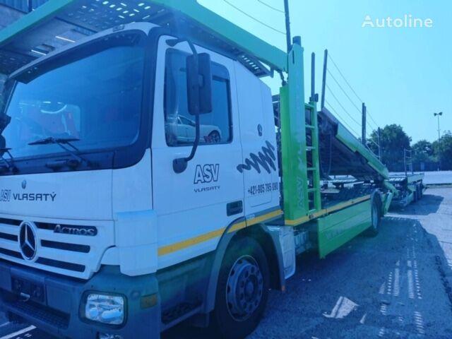 tovornjak avtotransporter MERCEDES-BENZ Actros + prikolica avtotransporter