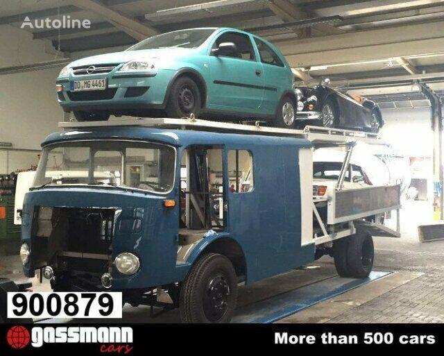tovornjak avtotransporter MERCEDES-BENZ LF16V LP710/32