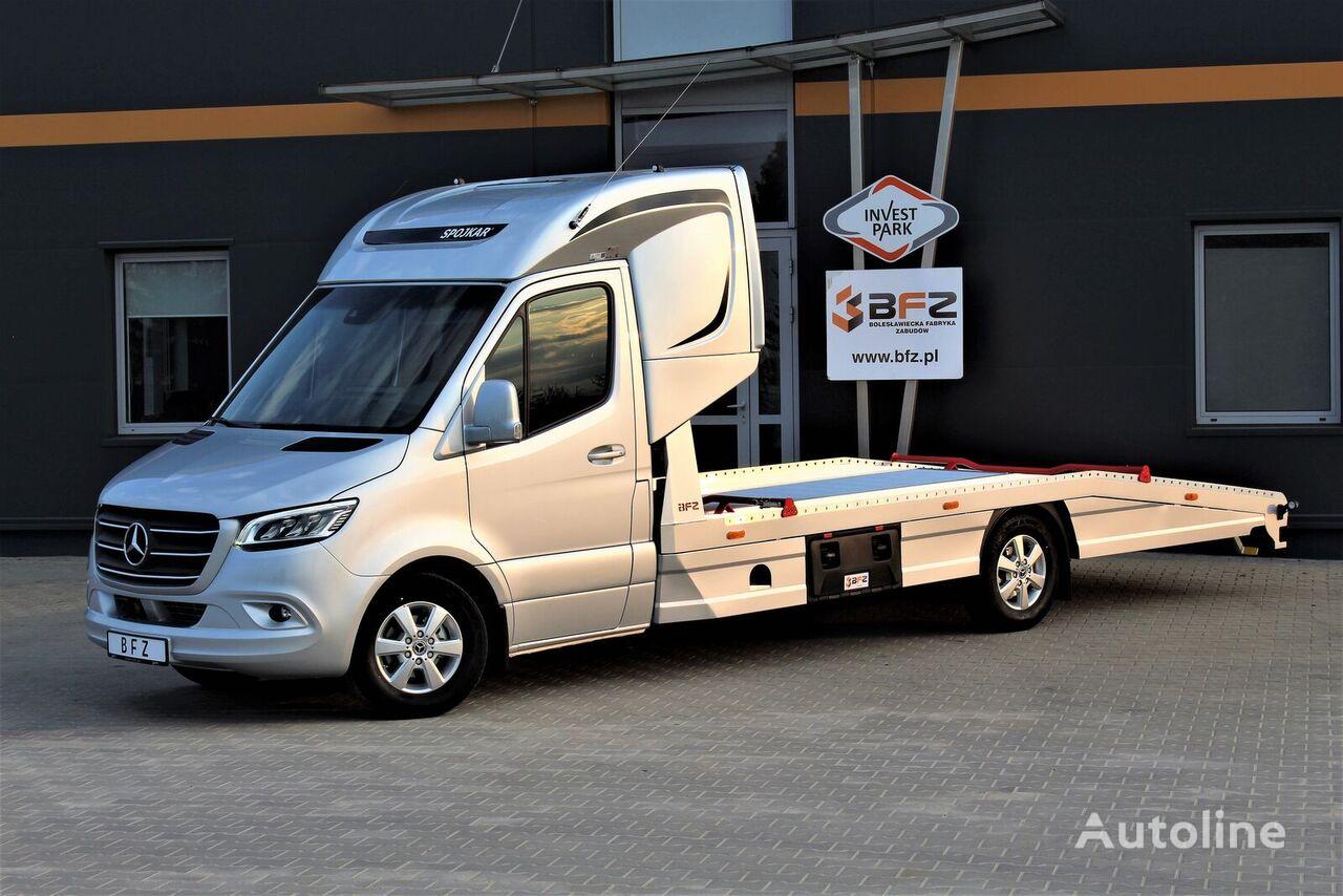 nov tovornjak avtotransporter MERCEDES-BENZ Mercedes-Benz Sprinter 319 V6 LUFTFEDERUNG AB WERK Schlafkabine