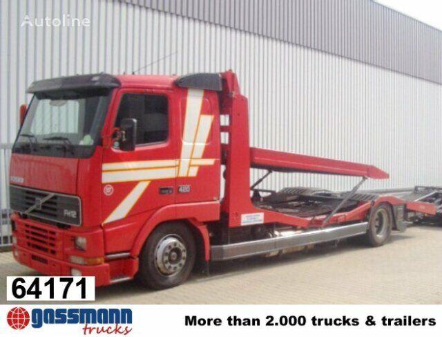 tovornjak avtotransporter VOLVO FH / 12-420 / Standheizung/Klima/NSW