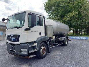 tovornjak cisterna MAN TGS 18.360 - citerne en inox isotherme-2 compartiments