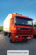 tovornjak hladilnik DAF 95 360 ATI left hand drive ZF manual pump 19 ton