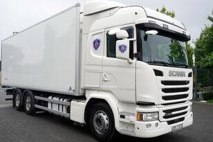 tovornjak hladilnik SCANIA G490, Meat hooks , 19 EPAL