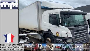 poškodovan tovornjak hladilnik SCANIA P340