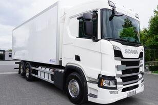 tovornjak hladilnik SCANIA SCANIA R500, Euro 6, 6x2, 19 EPAL refrigerator , lifting axle, N