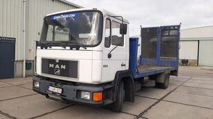 tovornjak platforma MAN FL 14.192 Euro 1 Winch 15.000kg