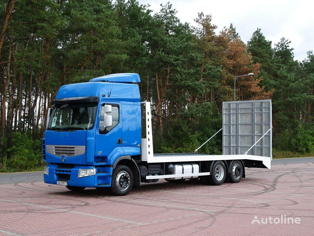 tovornjak platforma RENAULT PREMIUM 450 DXI
