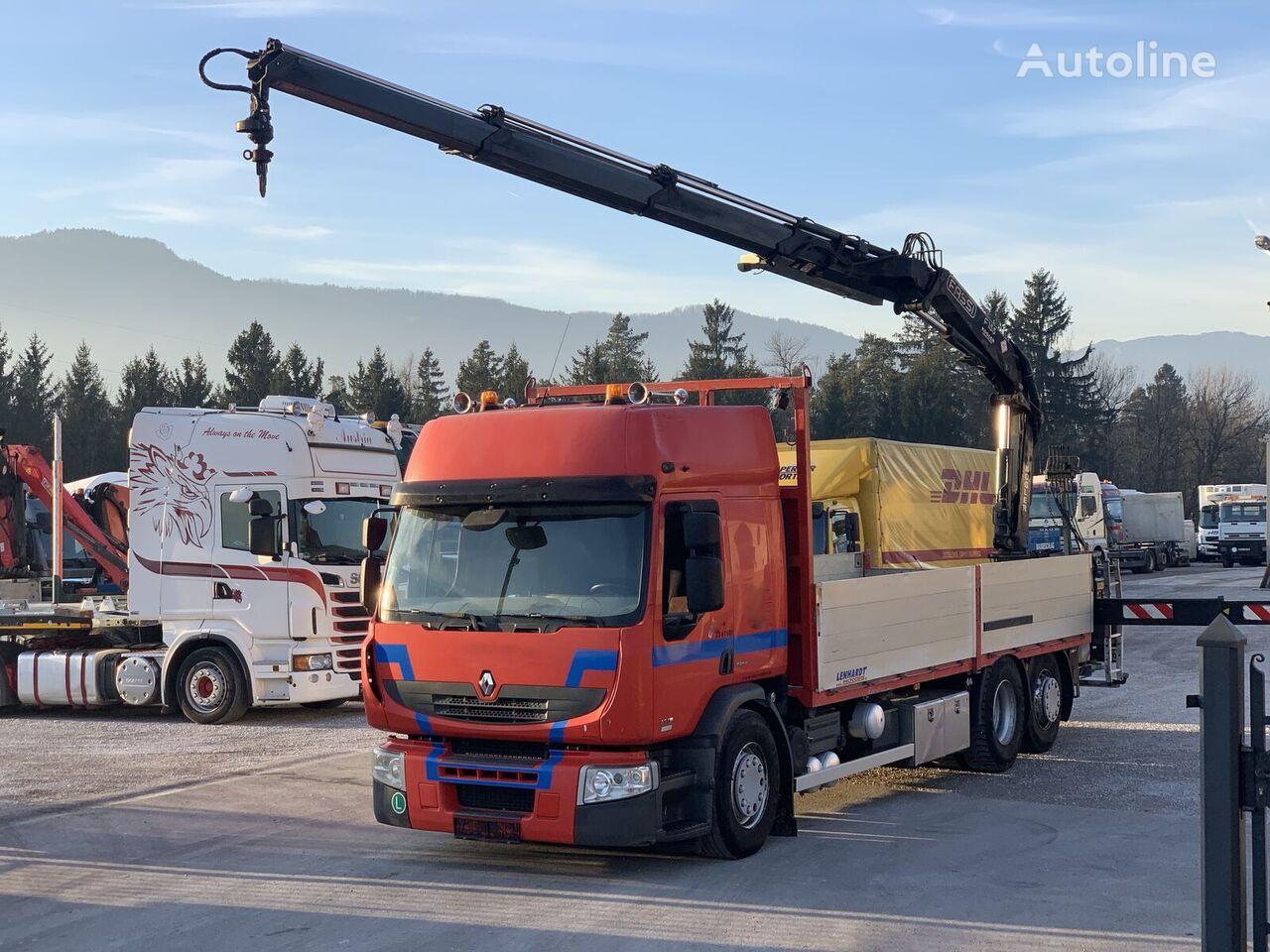 tovornjak platforma RENAULT Premium 430.26 EEV