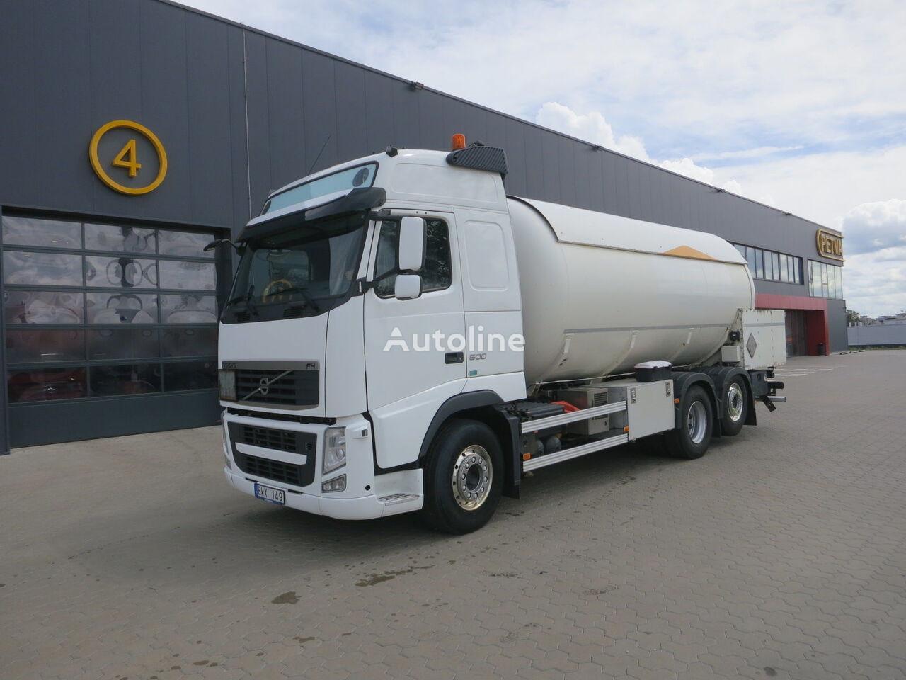 tovornjak plinska cisterna VOLVO FH 13.500, 26 000 liter. ADR