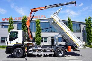 tovornjak prekucnik IVECO Stralis 310 , EEV , 120.000km , 3 side tipper , bordmatic , Cran