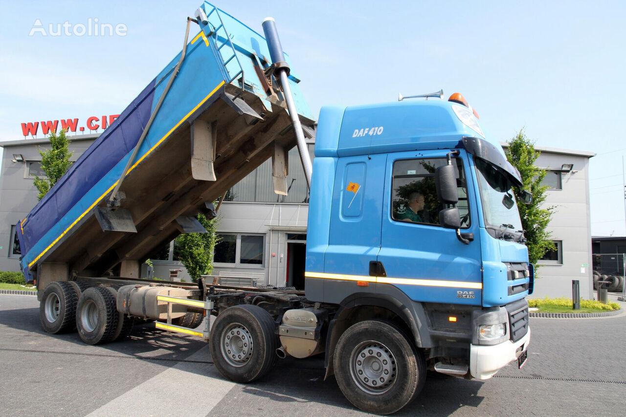 tovornjak prekucnik DAF 8x4 CF 85.410 TIPPER RIGHT HAND DRIVE