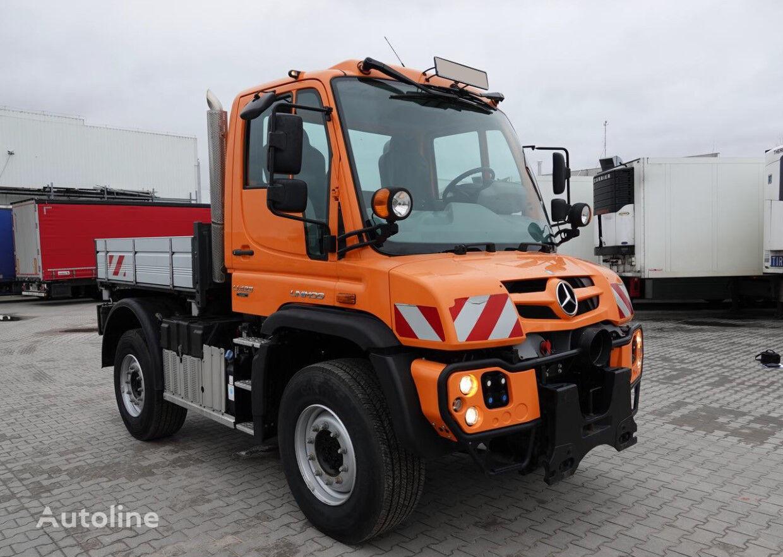 tovornjak prekucnik MERCEDES-BENZ UNIMOG U423 / 4X4 / 30 KKM / AC / RETARDER
