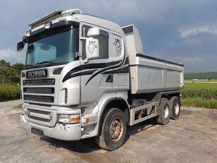 tovornjak prekucnik SCANIA R500 6x4, full steel,retarder