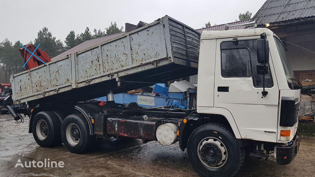 tovornjak prekucnik VOLVO FL12 380 6x4 Full Steel/Manual/Tipper (F12)