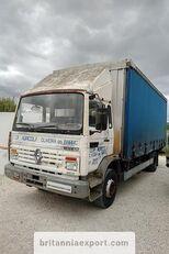 tovornjak s pomične zavese RENAULT Midliner M140.13 left hand drive 6 cylinder 13 ton full springs