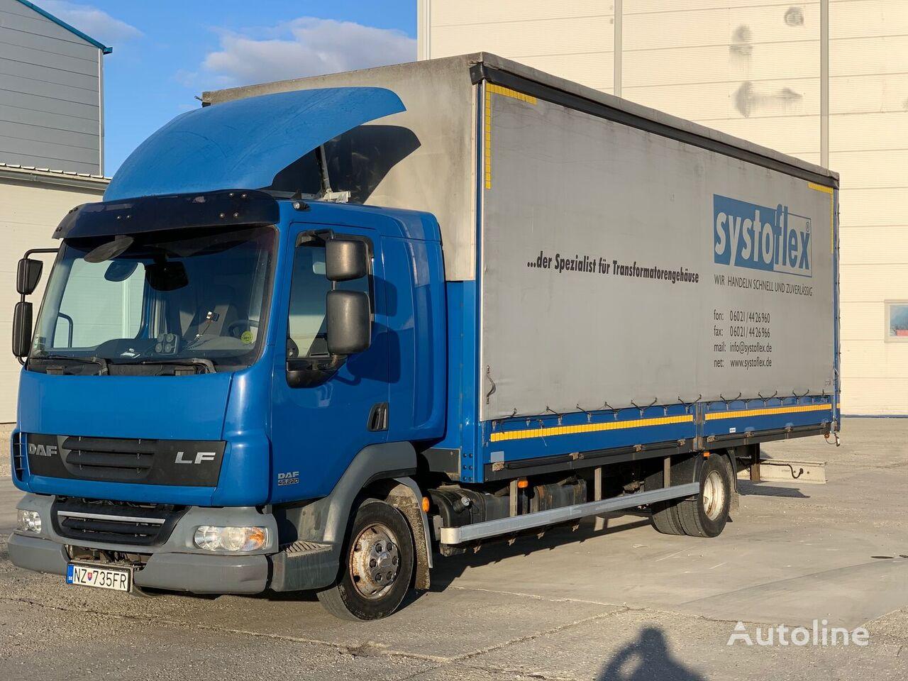 tovornjak s pomične zavese DAF AE 45 LF AUTOMAT EURO 5