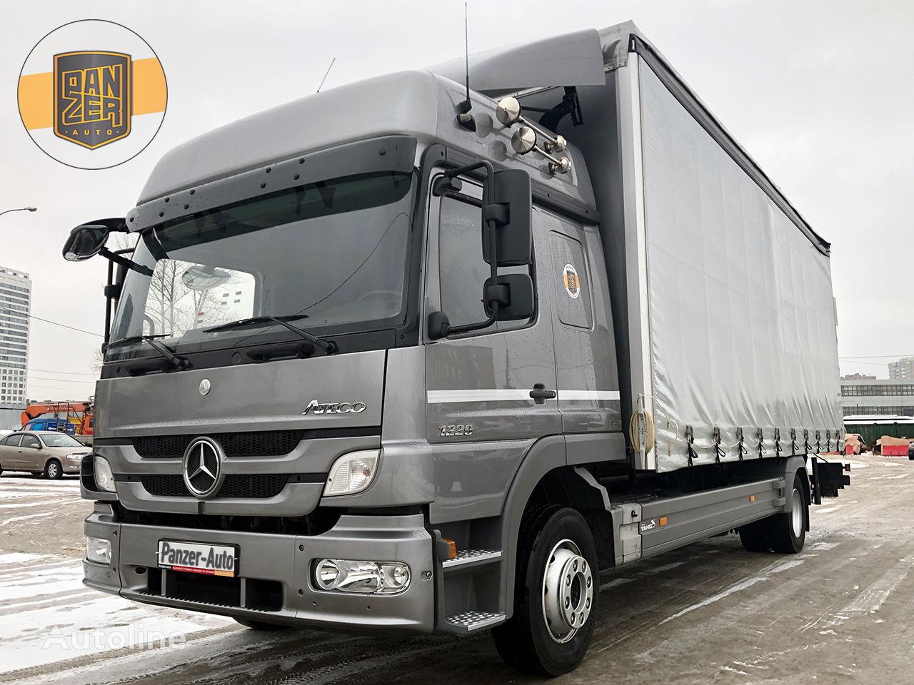 tovornjak s pomične zavese MERCEDES-BENZ ATEGO 1229L, shtora 50m3, gidrobort