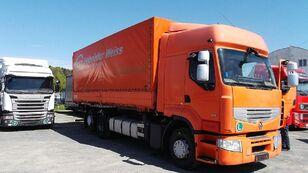 tovornjak s ponjavo RENAULT PREMIUM 460