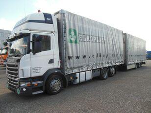 tovornjak s ponjavo SCANIA G440 + prikolica ponjava