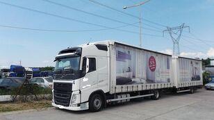 tovornjak s ponjavo VOLVO fh 420 EURO 6 + prikolica ponjava