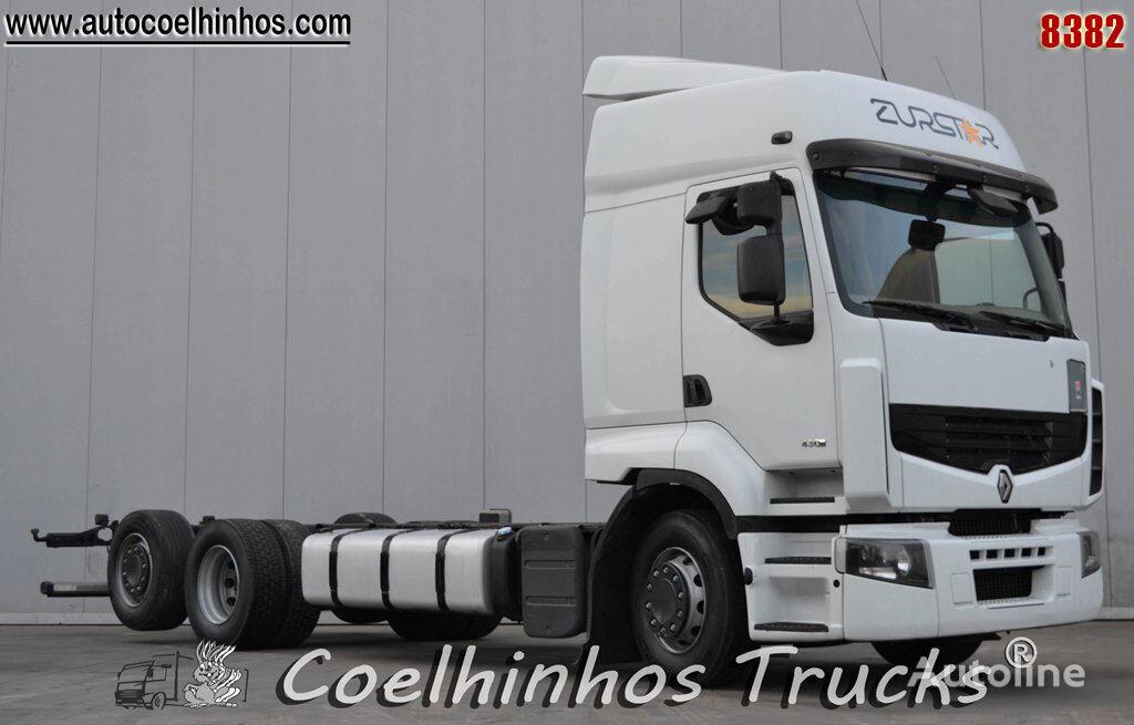 tovornjak šasija RENAULT Premium 430DXi