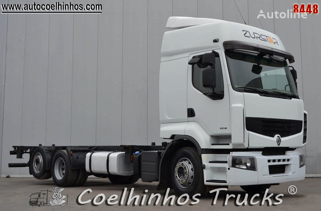 tovornjak šasija RENAULT Premium 460DXi EEV