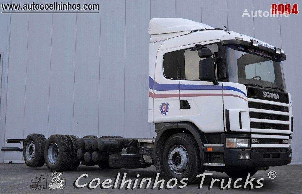 tovornjak šasija SCANIA 124L 400