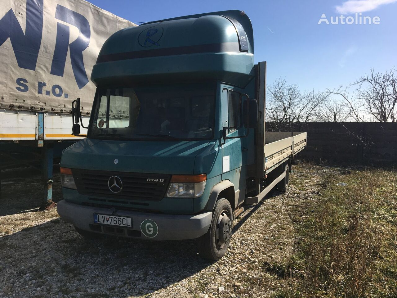 tovornjak tovorna ploščad MERCEDES-BENZ