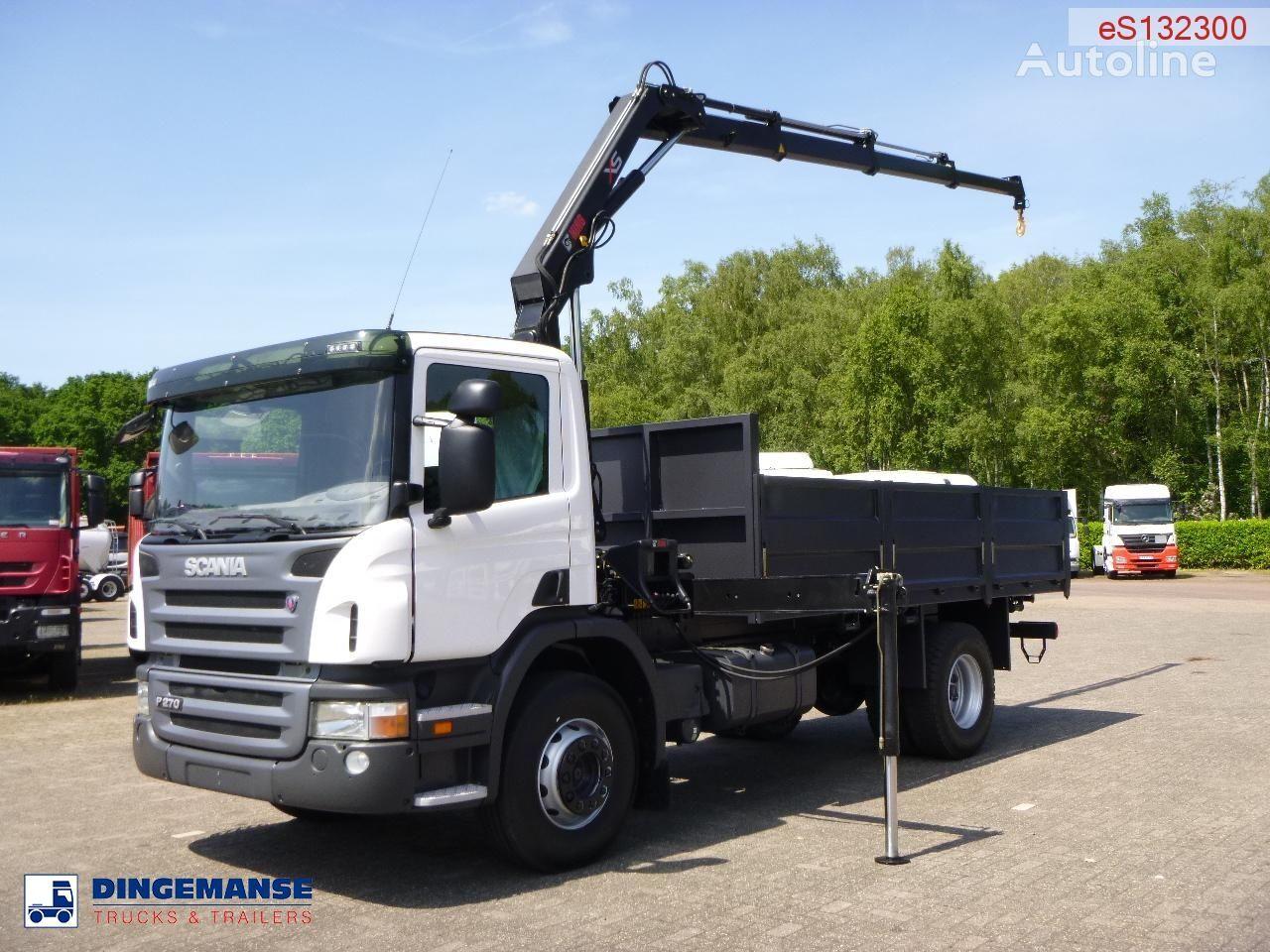 nov tovornjak tovorna ploščad SCANIA P270 LB 4X2 Hiab XS 099 B-3 Duo / NEW/UNUSED