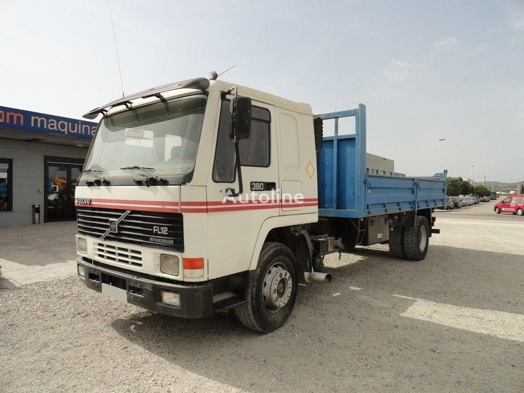 tovornjak tovorna ploščad VOLVO FL12-380 Intercooler
