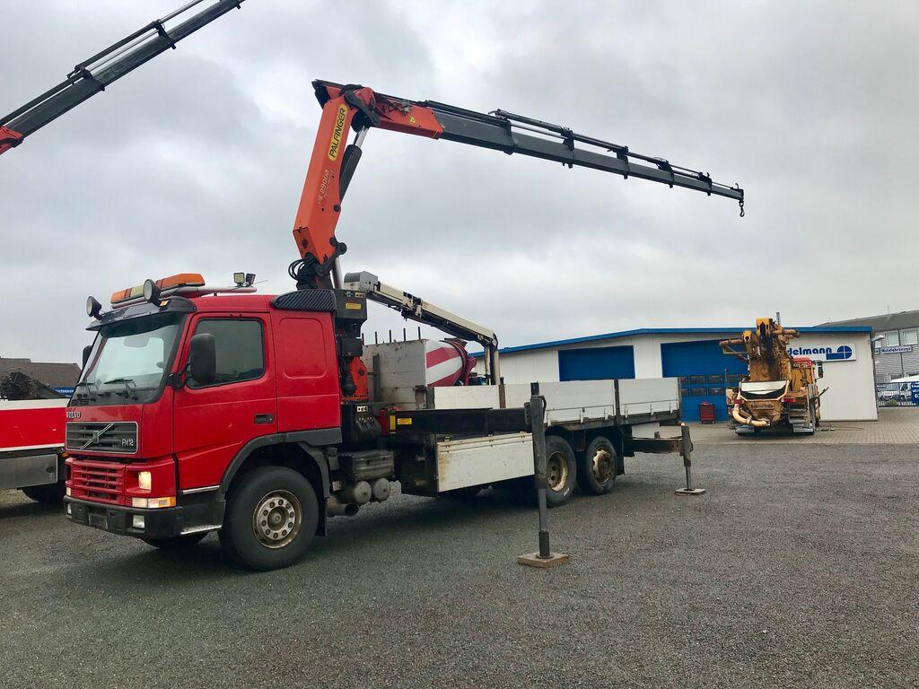 tovornjak tovorna ploščad VOLVO FM 12 62 RB 6X2 Palfinger Kran / Crane PK 29002