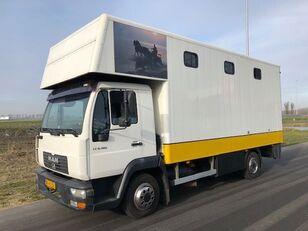 tovornjak za prevoz konj MAN LE8-180