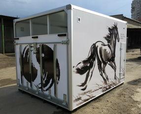 nov tovornjak za prevoz konj ИСТОК