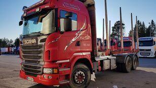 tovornjak za prevoz lesa SCANIA R560 6x4
