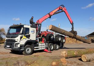 tovornjak za prevoz lesa VOLVO FMX 540 6X4 FAYMONVILLE PALFINGER EPSILON