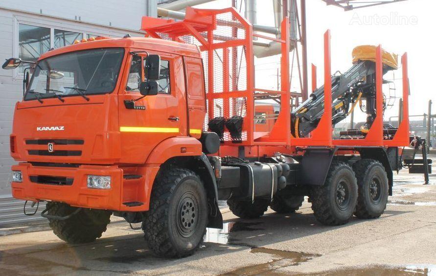 nov tovornjak za prevoz lesa KAMAZ sortimentovoz 658610