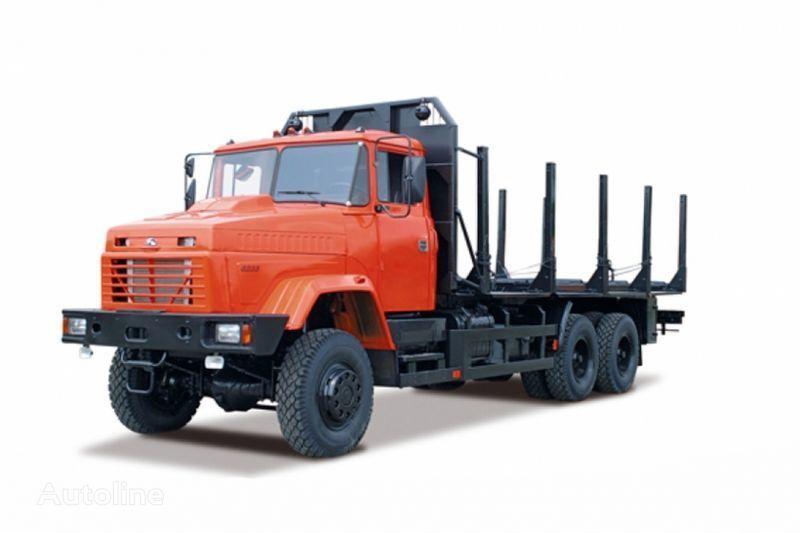 nov tovornjak za prevoz lesa KRAZ 6233M6