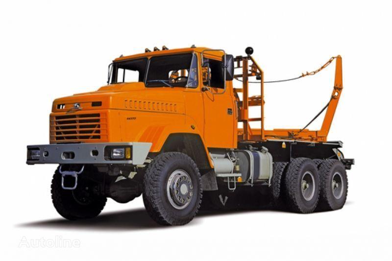 nov tovornjak za prevoz lesa KRAZ 64372 tip 2