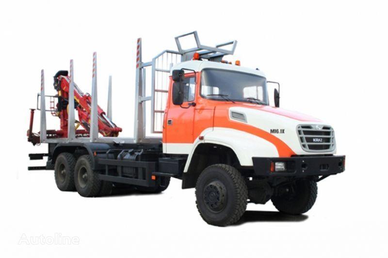 nov tovornjak za prevoz lesa KRAZ M16.1H