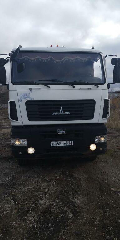 tovornjak za prevoz lesa MAZ 6312A9