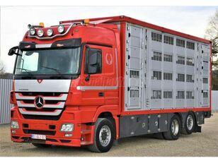 tovornjak za prevoz živine MERCEDES-BENZ Actros 2548 6x2 Élőállat-szállító