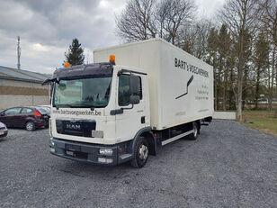 tovornjak zabojnik MAN TGL 8.180 taillift/hayon - euro 5 - very good tyres