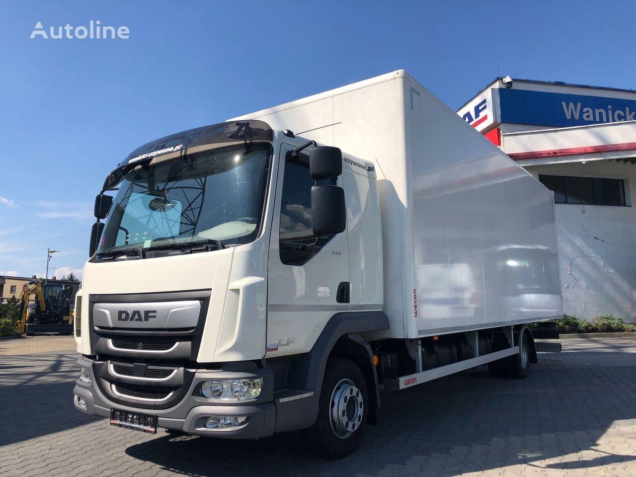 tovornjak zabojnik DAF LF 210 FA