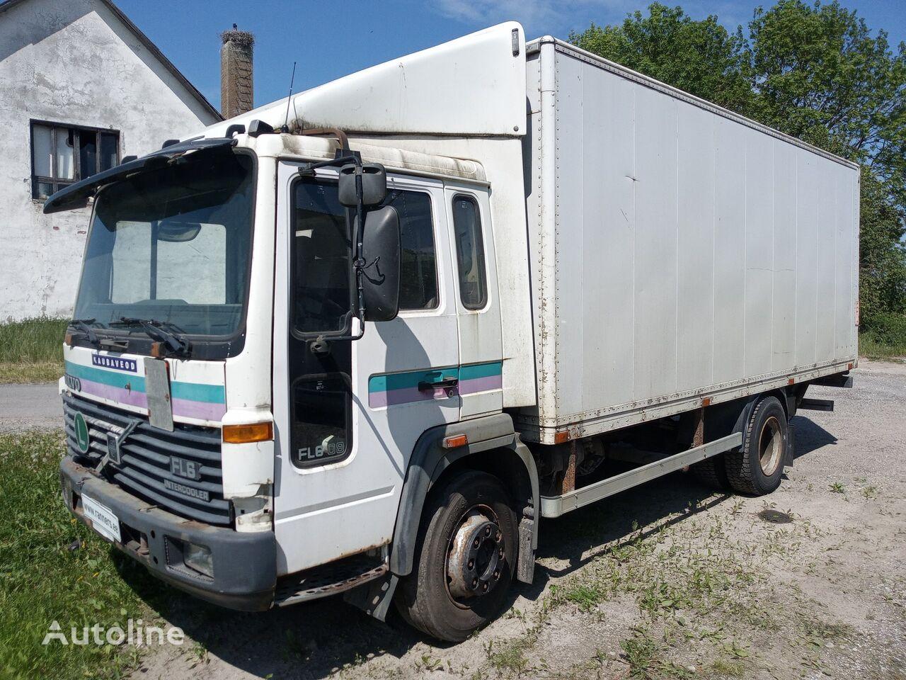tovornjak zabojnik VOLVO FL6 box+ lift, full steel