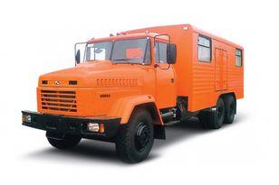 nov vojaški tovornjak KRAZ 65053 мастерская