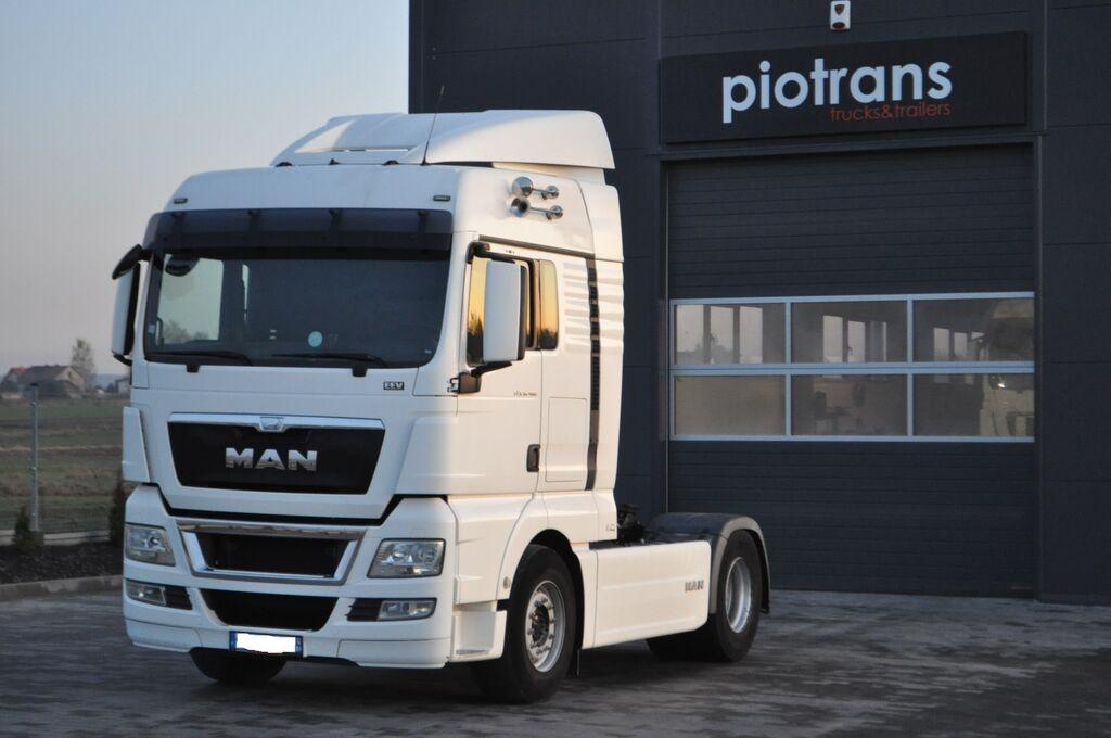 vlačilec MAN MAN TGX /18.480/INTARDER/XLX/EURO 5/AUTOMAT/SPROWADZONY/SUPER ST