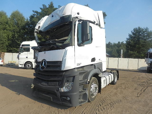 poškodovan vlačilec MERCEDES-BENZ ACTROS 1845 MP4 2012r. MEGA LOW DECK